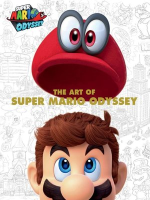 cover image of The Art of Super Mario Odyssey