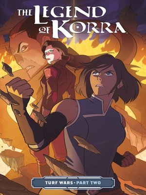 cover image of The Legend of Korra: Turf Wars (2017), Part Two