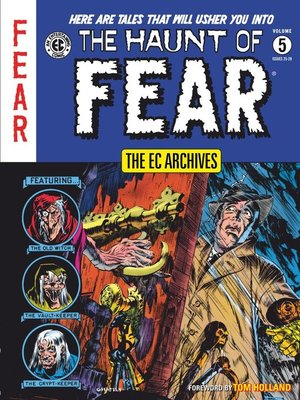 cover image of The Haunt of Fear (1950), Volume 5