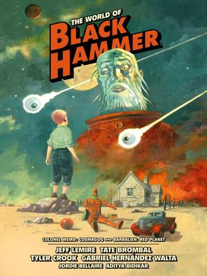 cover image of The World Of Black Hammer Library Edition Volume 3