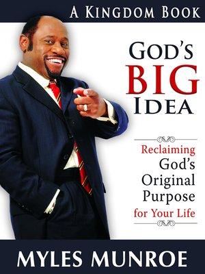 cover image of God's Big Idea
