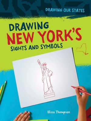 cover image of Drawing New York's Sights and Symbols