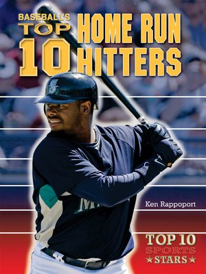 cover image of Baseball's Top 10 Home Run Hitters