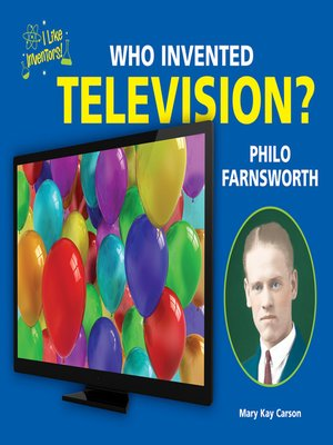cover image of Who Invented Television?
