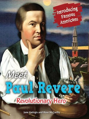 cover image of Meet Paul Revere