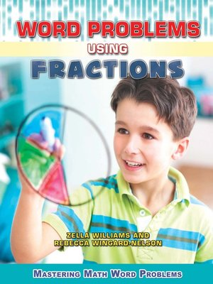 cover image of Word Problems Using Fractions