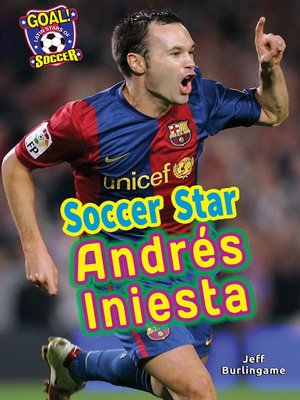 cover image of Soccer Star Andrés Iniesta