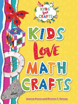 cover image of Kids Love Math Crafts