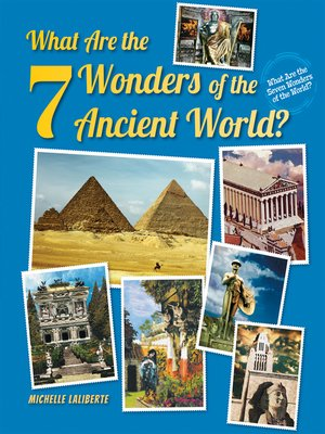 cover image of What Are the 7 Wonders of the Ancient World?