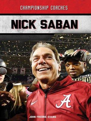 cover image of Nick Saban