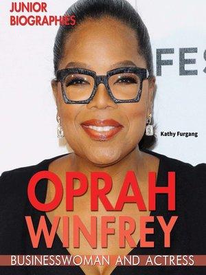 cover image of Oprah Winfrey