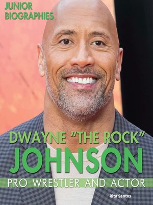 """cover image of Dwayne """"The Rock"""" Johnson"""