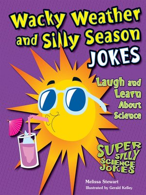 cover image of Wacky Weather and Silly Season Jokes