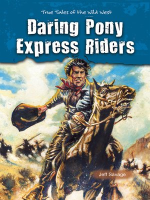 cover image of Daring Pony Express Riders
