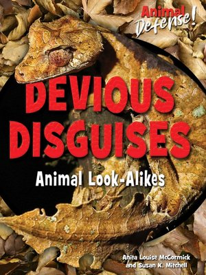 cover image of Devious Disguises