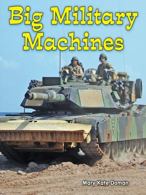 cover image of Big Military Machines