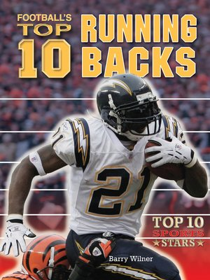 cover image of Football's Top 10 Running Backs