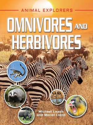 cover image of Omnivores and Herbivores