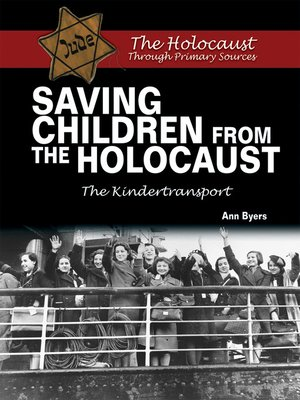 cover image of Saving Children From the Holocaust