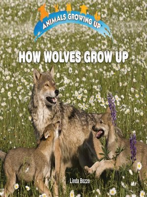 cover image of How Wolves Grow Up