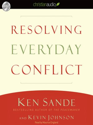 cover image of Resolving Everyday Conflict