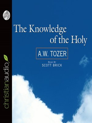 cover image of The Knowledge of the Holy