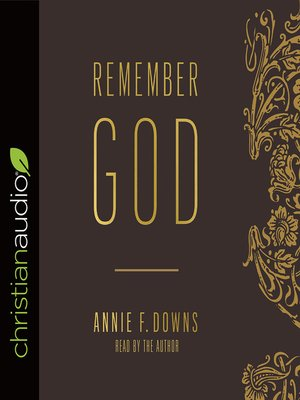 cover image of Remember God