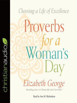 cover image of Proverbs for a Woman's Day
