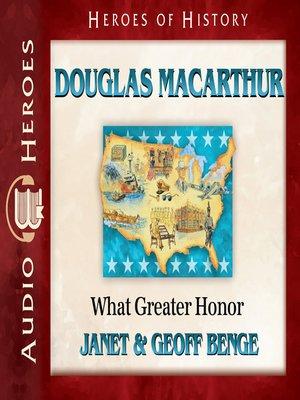 cover image of Douglas MacArthur