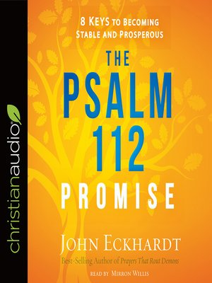 cover image of The Psalm 112 Promise
