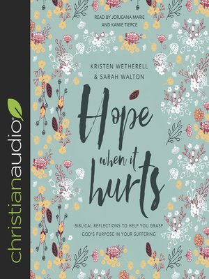 cover image of Hope When It Hurts