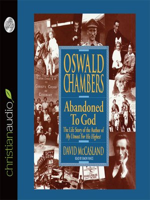 cover image of Oswald Chambers