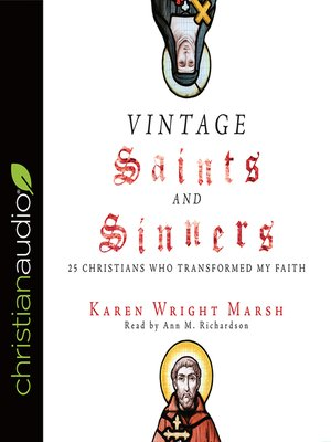 cover image of Vintage Saints and Sinners