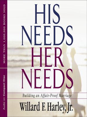 cover image of His Needs, Her Needs