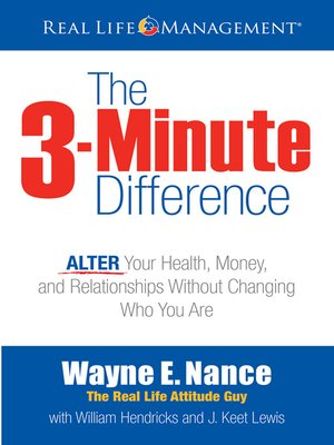 cover image of 3-Minute Difference