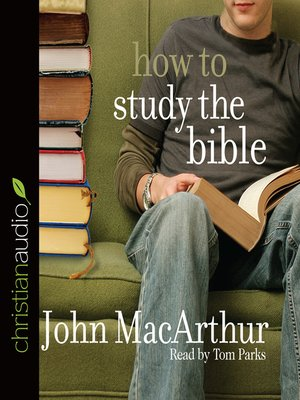 cover image of How to Study the Bible