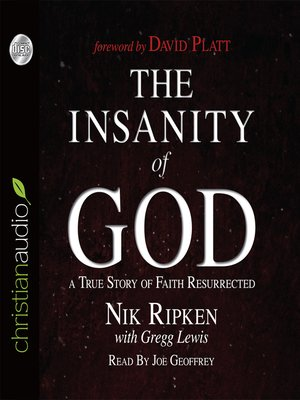 cover image of The Insanity of God