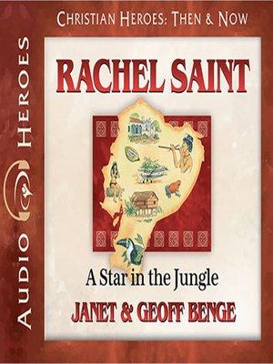 cover image of Rachel Saint