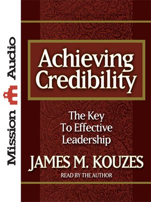 cover image of Achieving Credibility
