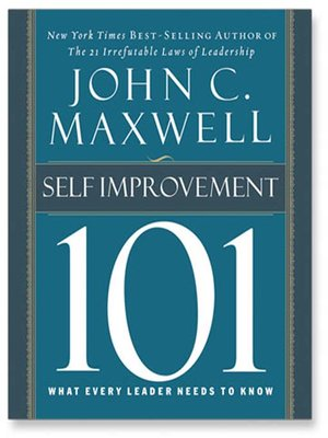 cover image of Self-Improvement 101