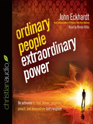 cover image of Ordinary People, Extraordinary Power