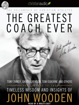 cover image of Greatest Coach Ever