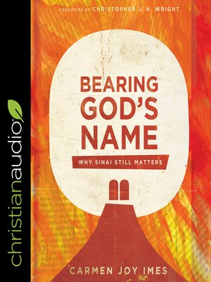 cover image of Bearing God's Name