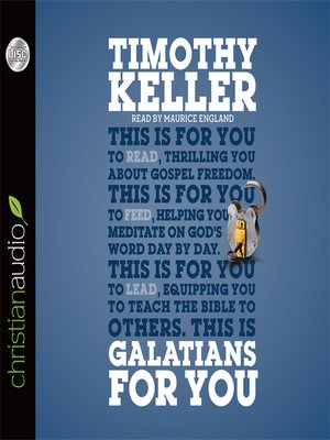 cover image of Galatians for You
