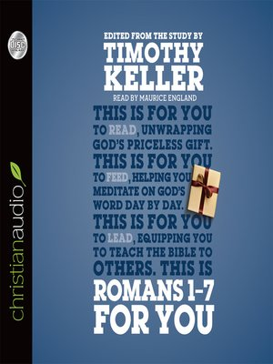 cover image of Romans 1--7 for You