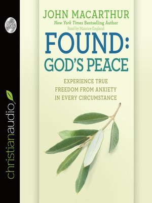 cover image of Found: God's Peace