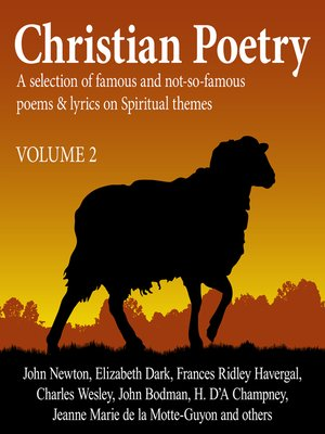 cover image of Christian Poetry