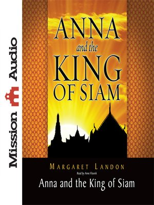 cover image of Anna and the King of Siam