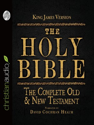 cover image of The Holy Bible in Audio - King James Version