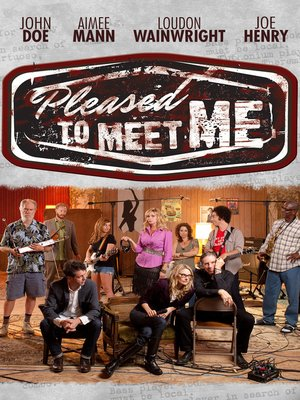 cover image of Pleased to Meet Me